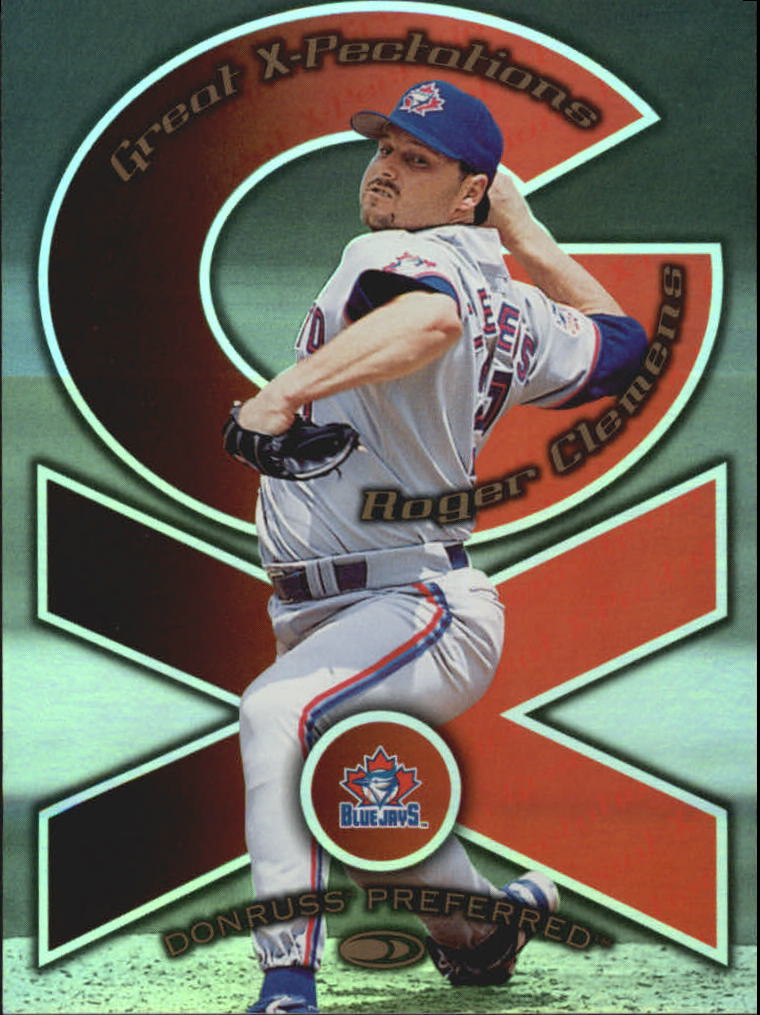 1998 Donruss Preferred Great X-Pectations #8 R.Clemens/J.Wright