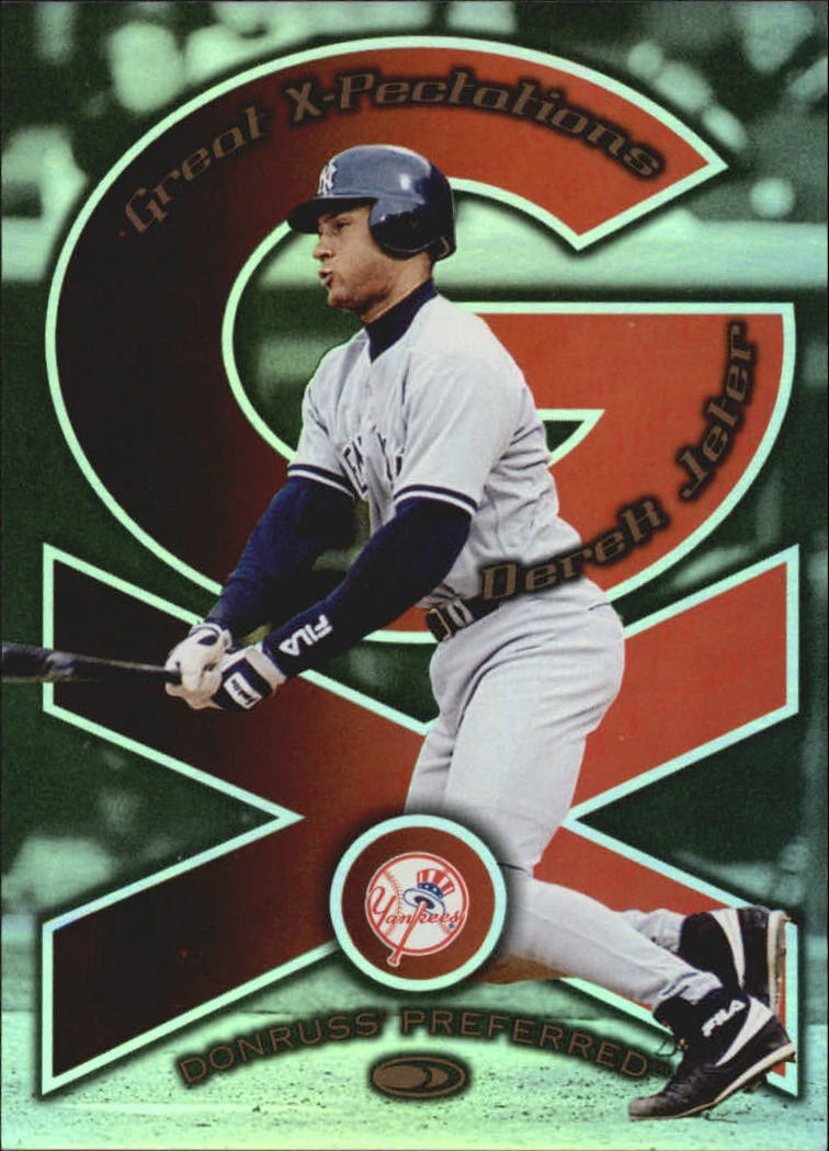 1998 Donruss Preferred Great X-Pectations #21 D.Jeter/N.Garciaparra
