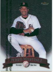 1998 Finest #154 Pedro Martinez