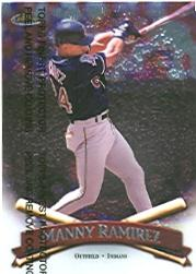1998 Finest #244 Manny Ramirez