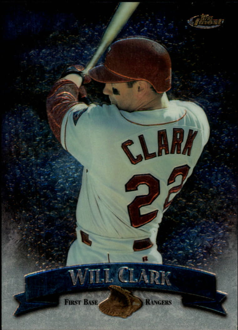 1998 Finest No-Protectors #68 Will Clark