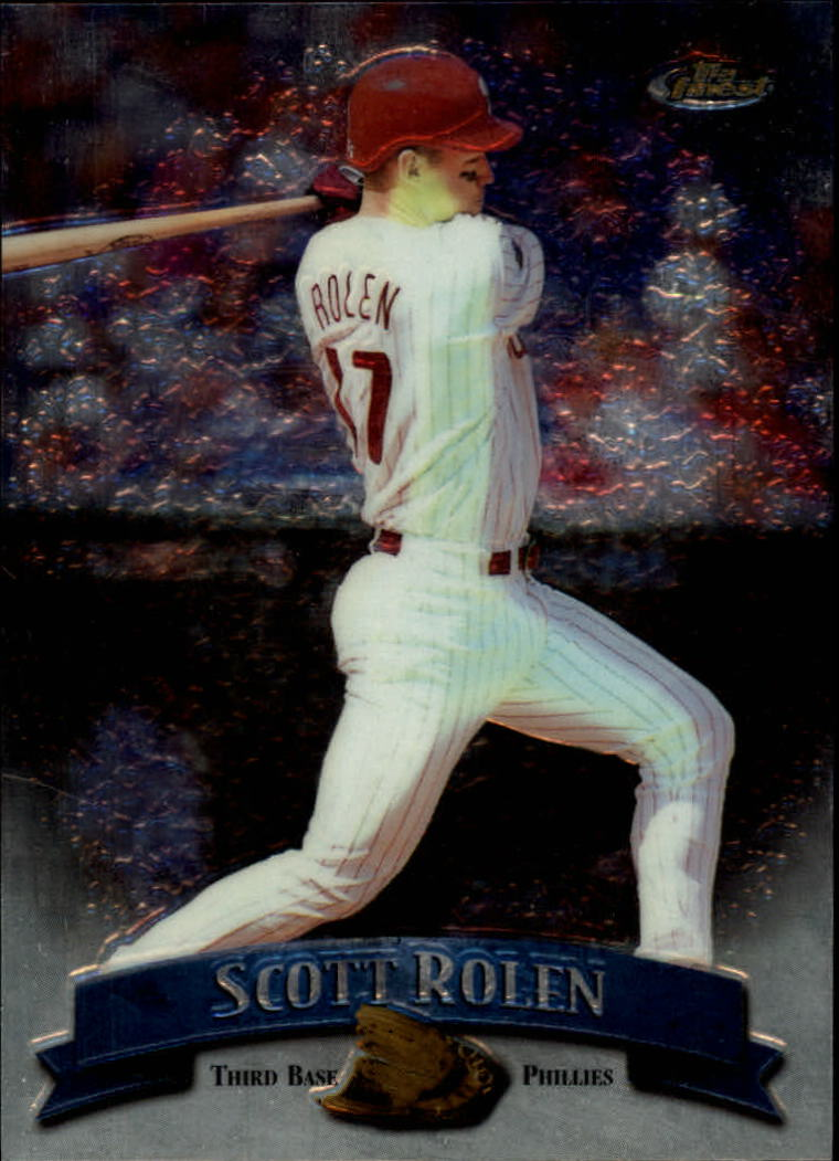 1998 Finest No-Protectors #142 Scott Rolen