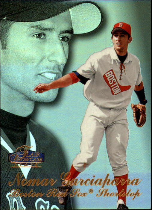 1998 Flair Showcase Row 3 #5 Nomar Garciaparra