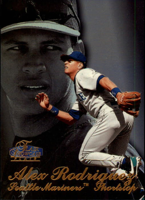1998 Flair Showcase Row 3 #7 Alex Rodriguez