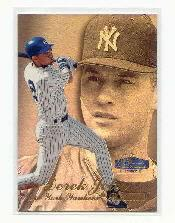 1998 Flair Showcase Row 3 #14 Derek Jeter