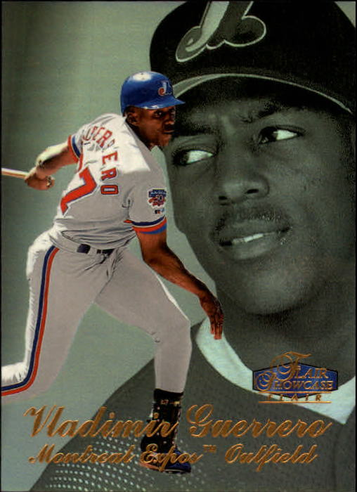 1998 Flair Showcase Row 3 #37 Vladimir Guerrero