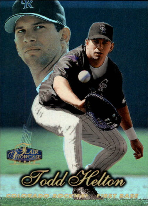 1998 Flair Showcase Row 2 #12 Todd Helton