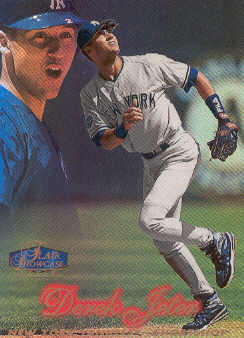 1998 Flair Showcase Row 2 #14 Derek Jeter