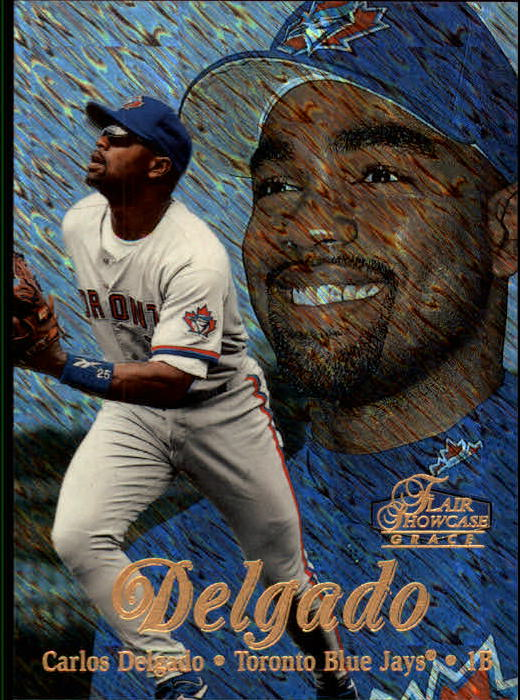 1998 Flair Showcase Row 1 #74 Carlos Delgado