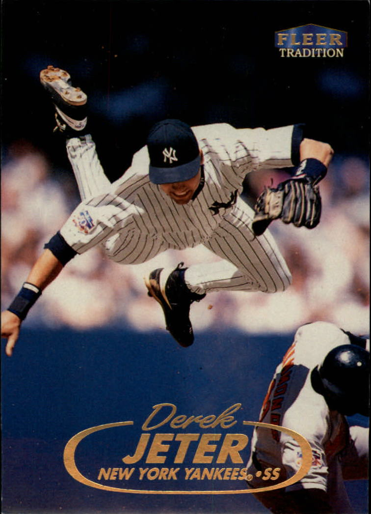 1998 Fleer Tradition #2 Derek Jeter