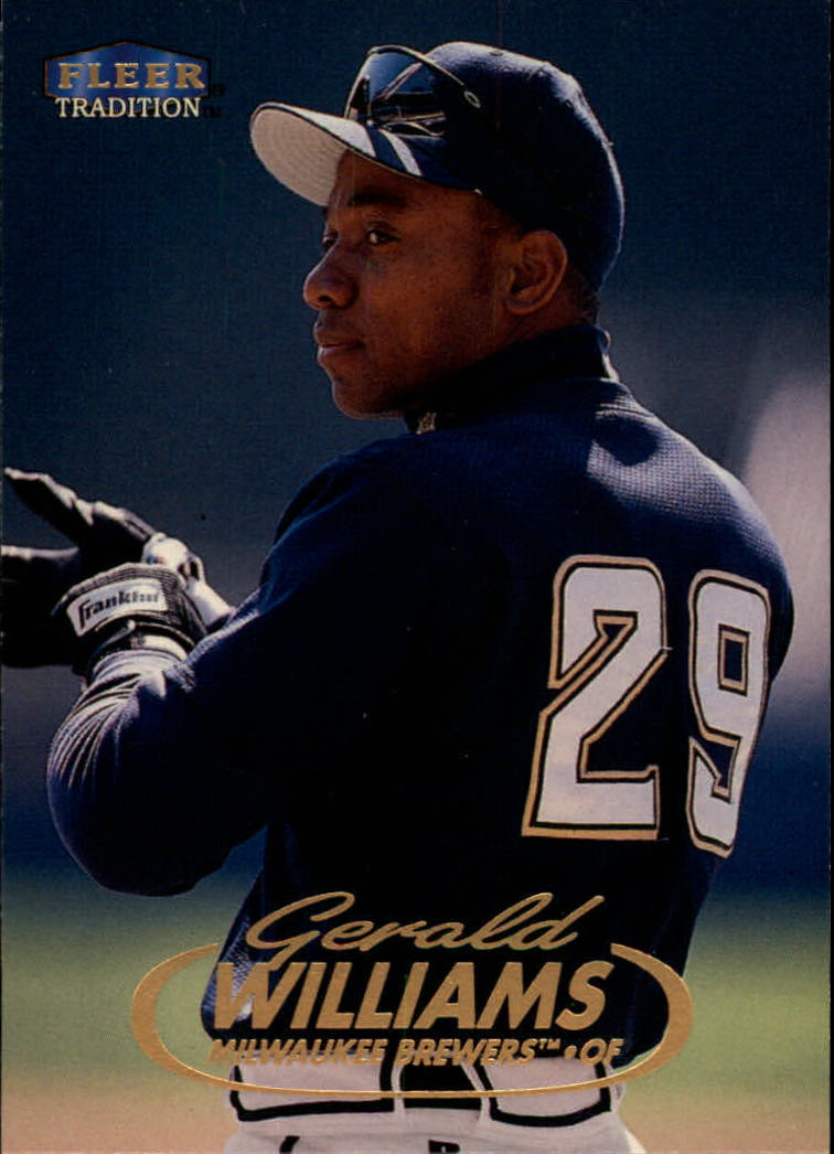 1998 Fleer Tradition #3 Gerald Williams