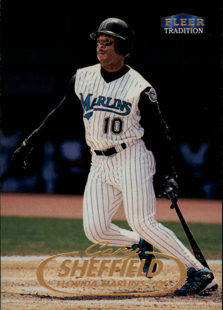 1998 Fleer Tradition #6 Gary Sheffield