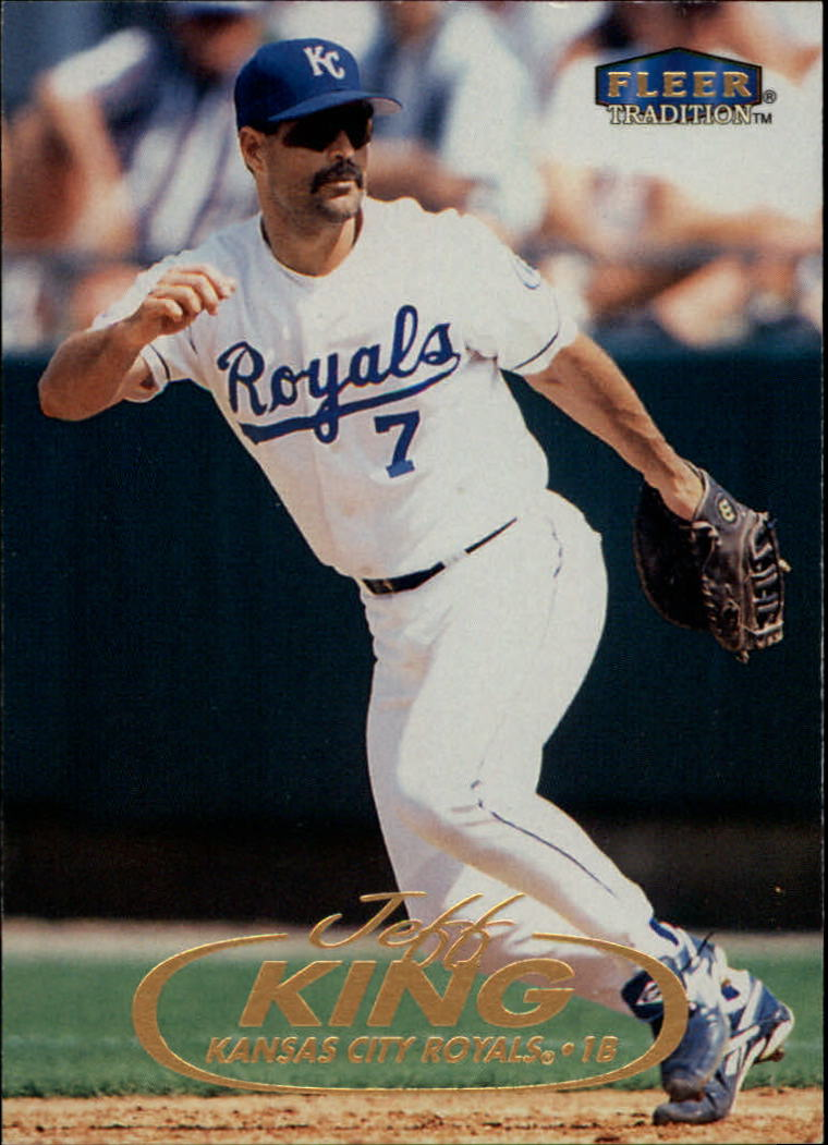 1998 Fleer Tradition #7 Jeff King