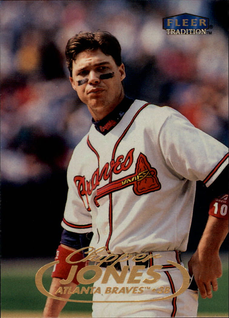 1998 Fleer Tradition #10 Chipper Jones