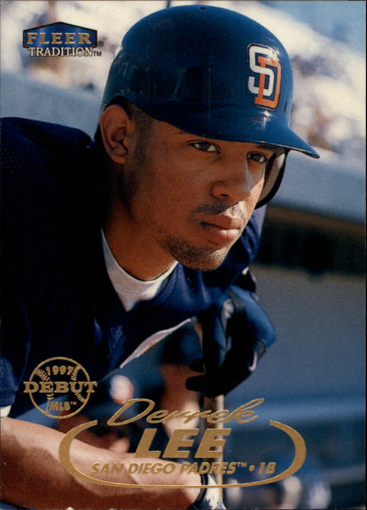 1998 Fleer Tradition #24 Derrek Lee