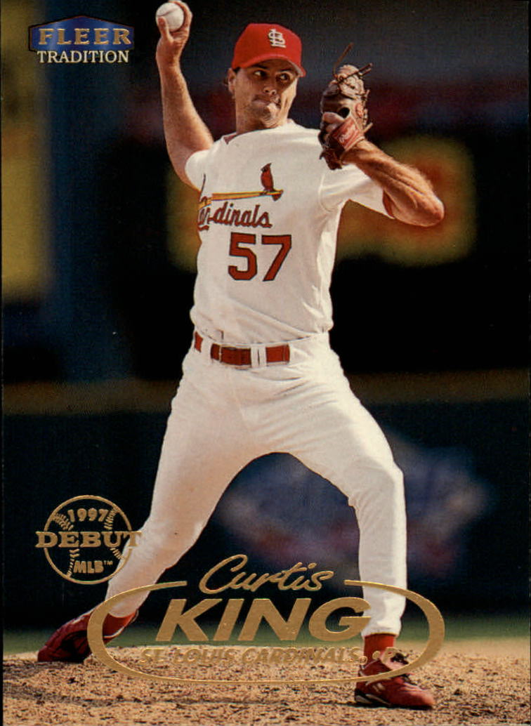 1998 Fleer Tradition #36 Curtis King RC