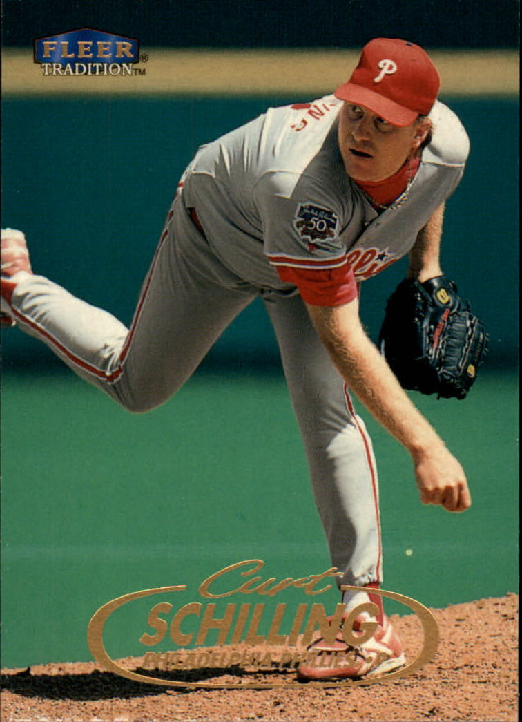 1998 Fleer Tradition #38 Curt Schilling