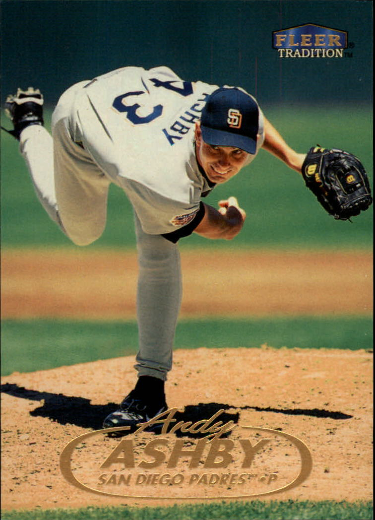 1998 Fleer Tradition #41 Andy Ashby