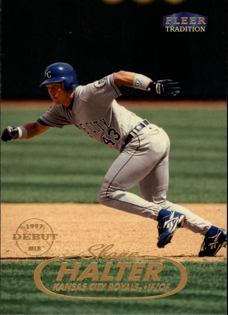 1998 Fleer Tradition #48 Shane Halter