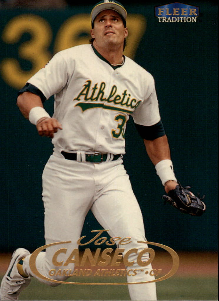 1998 Fleer Tradition #66 Jose Canseco
