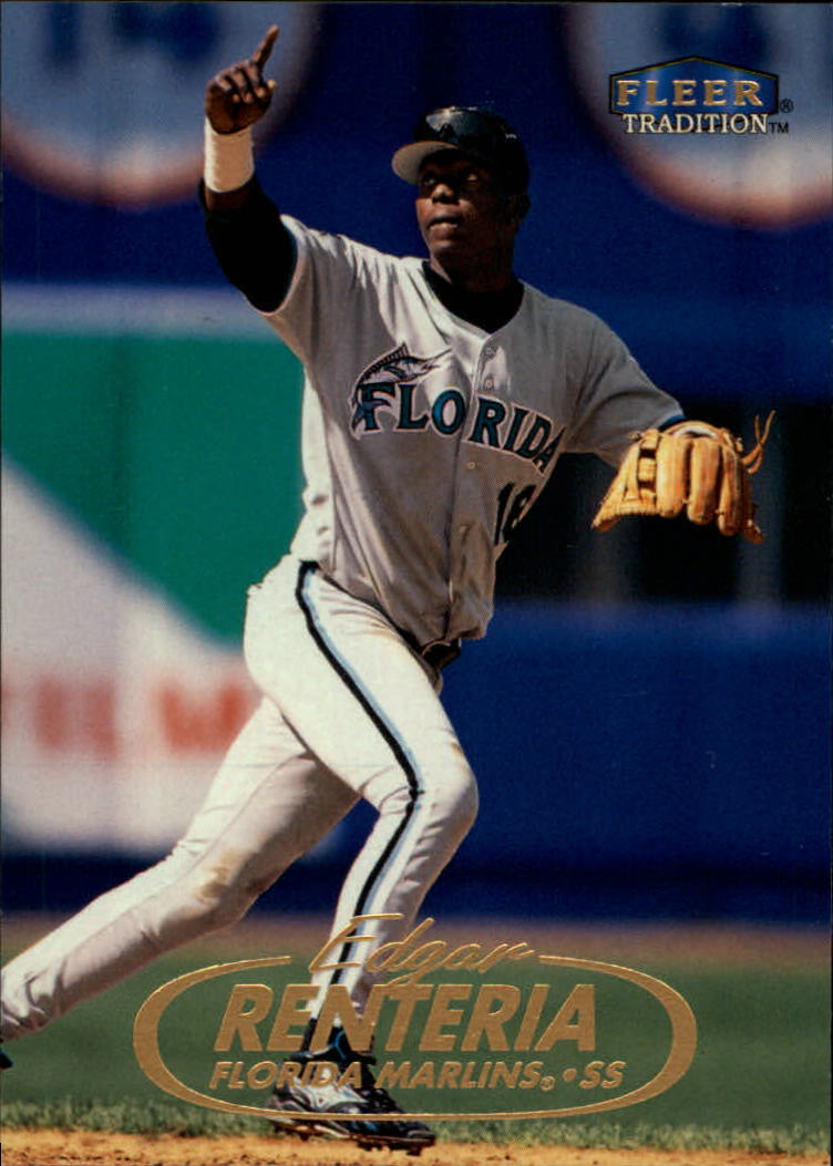 1998 Fleer Tradition #67 Edgar Renteria