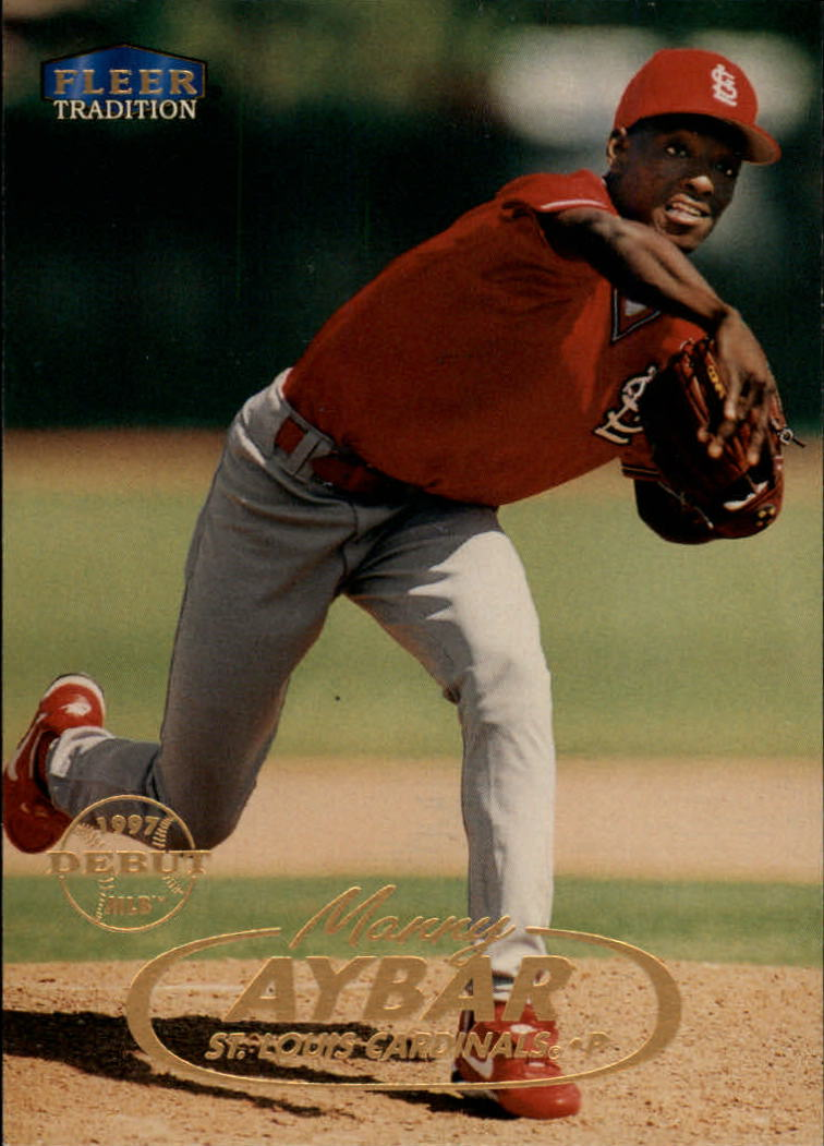 1998 Fleer Tradition #95 Manny Aybar RC