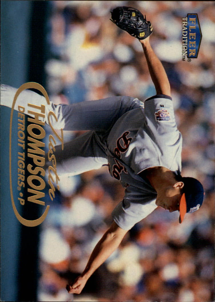 1998 Fleer Tradition #152 Justin Thompson