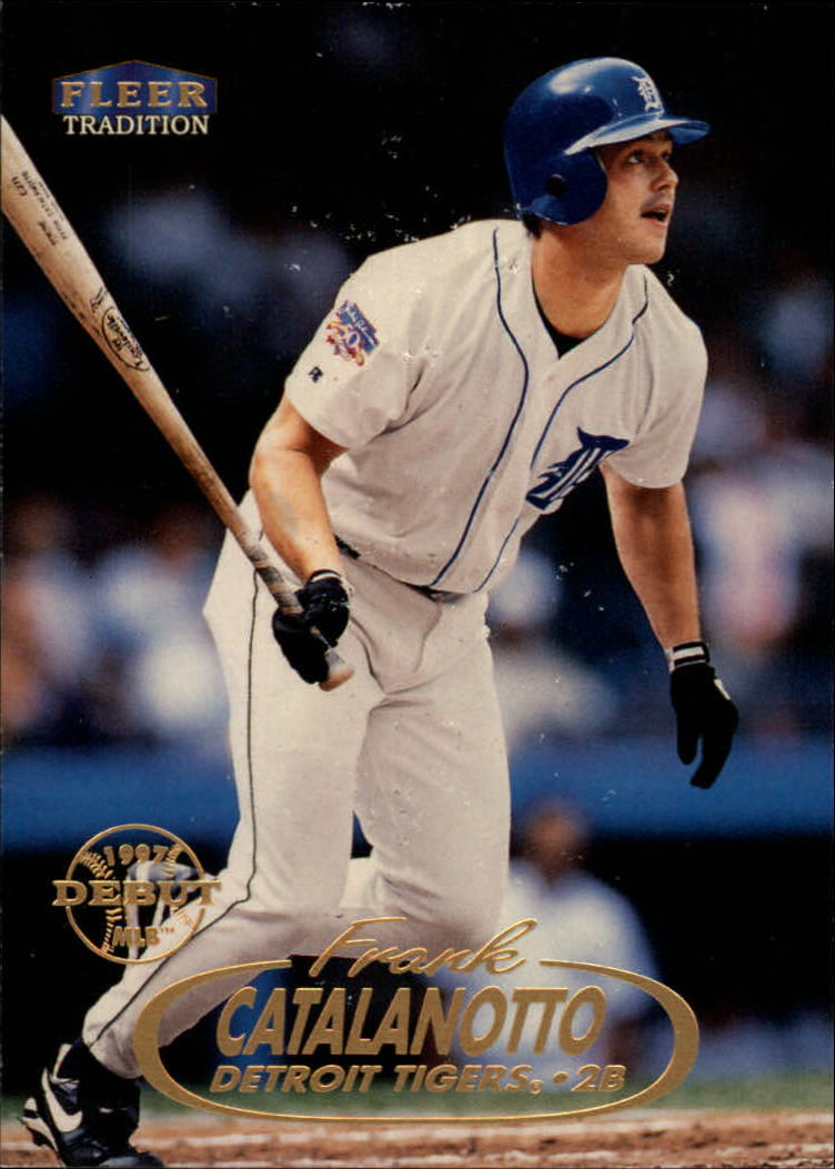 1998 Fleer Tradition #212 Frank Catalanotto RC