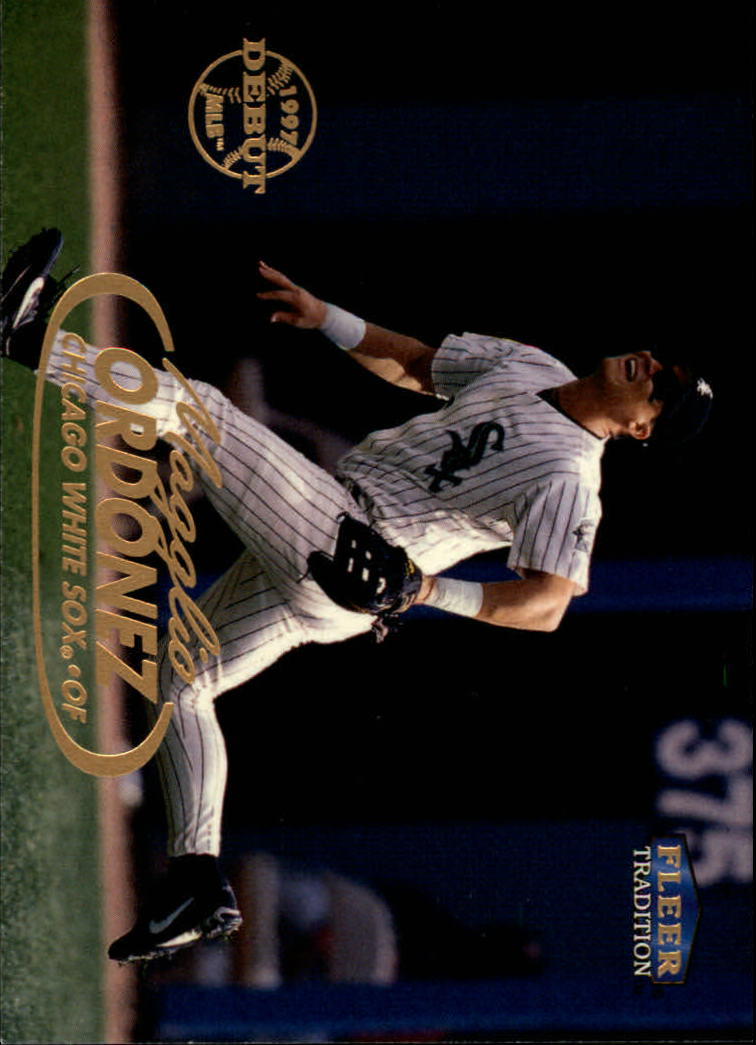 1998 Fleer Tradition #235 Magglio Ordonez RC