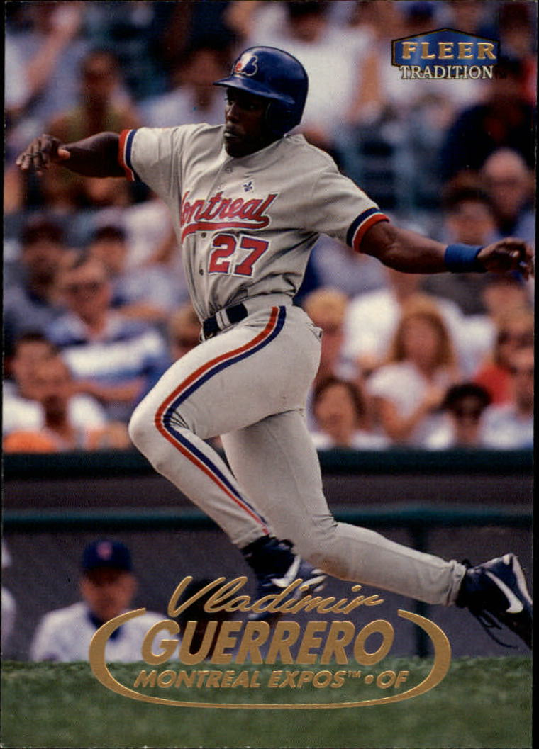 1998 Fleer Tradition #244 Vladimir Guerrero