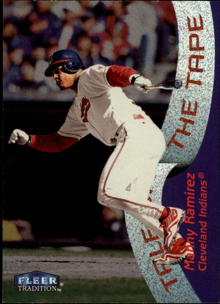 1998 Fleer Tradition #335 Manny Ramirez TT