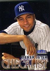 1998 Fleer Tradition #343 Derek Jeter CL