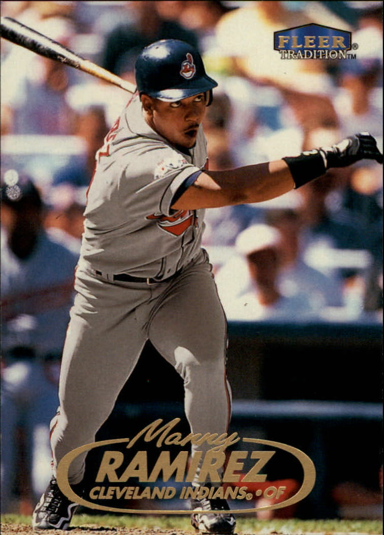 1998 Fleer Tradition #388 Manny Ramirez
