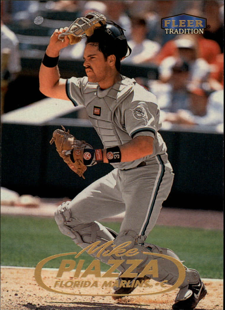 1998 Fleer Tradition #391 Mike Piazza