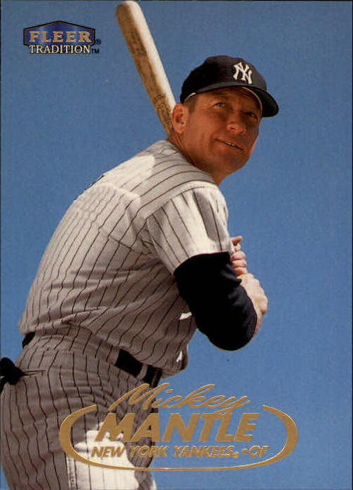 1998 Fleer Tradition #536 Mickey Mantle