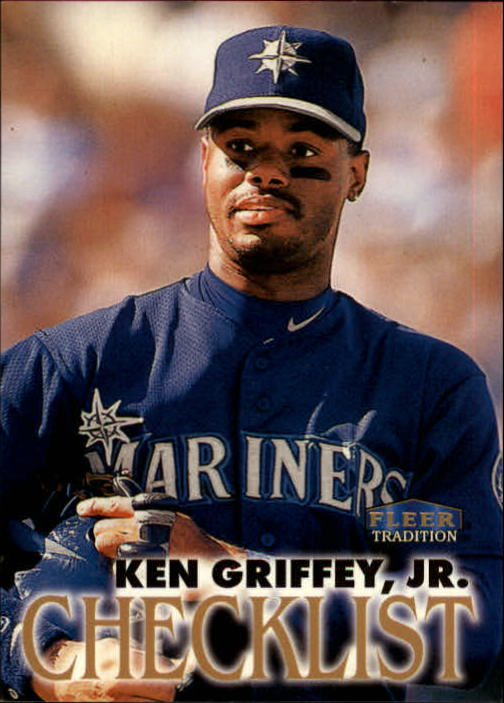 1998 Fleer Tradition #572 Ken Griffey Jr. CL