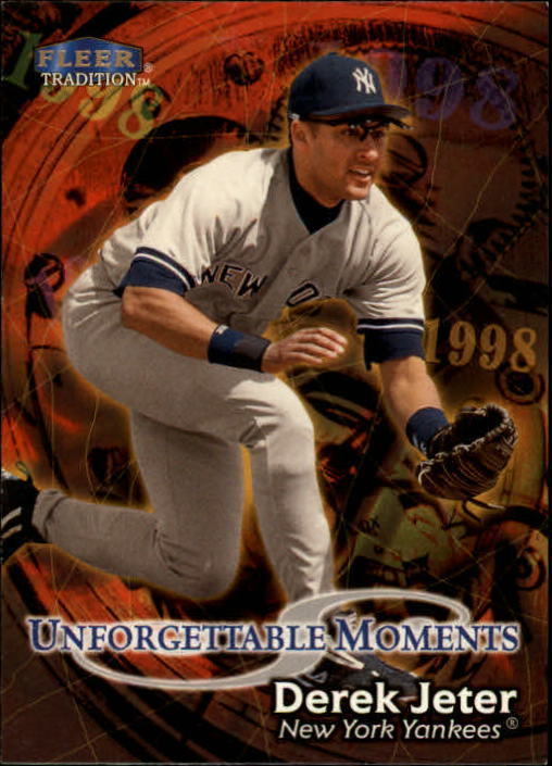 1998 Fleer Tradition #586 Derek Jeter UM
