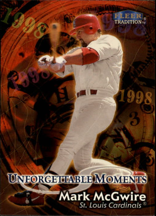 1998 Fleer Tradition #590 Mark McGwire UM