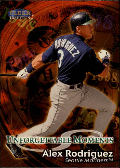 1998 Fleer Tradition #594 Alex Rodriguez UM
