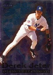 1998 Fleer Tradition Diamond Standouts #9 Derek Jeter