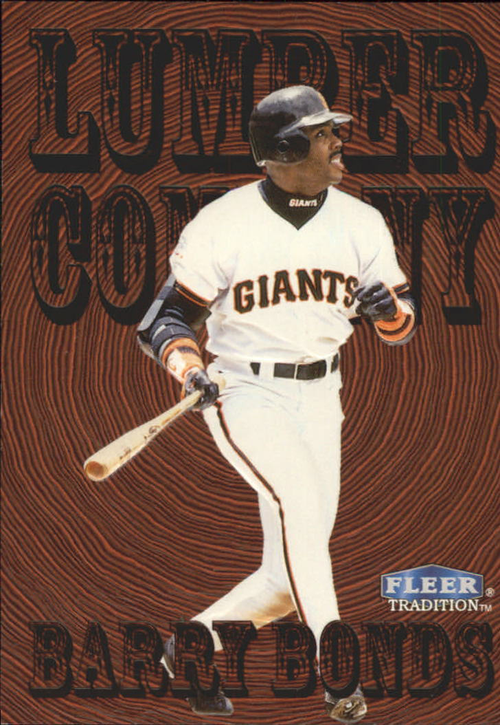 1998 Fleer Tradition Lumber Company #2 Barry Bonds