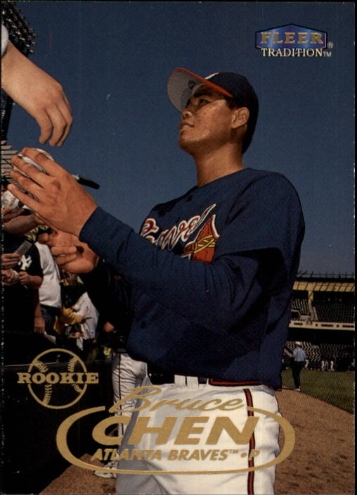 1998 Fleer Tradition Update #U12 Bruce Chen