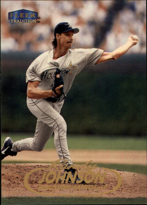 1998 Fleer Tradition Update #U49 Randy Johnson