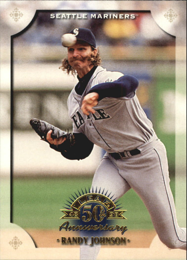 1998 Leaf #30 Randy Johnson