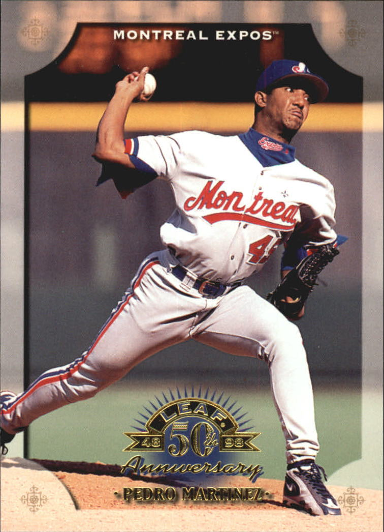 1998 Leaf #121 Pedro Martinez
