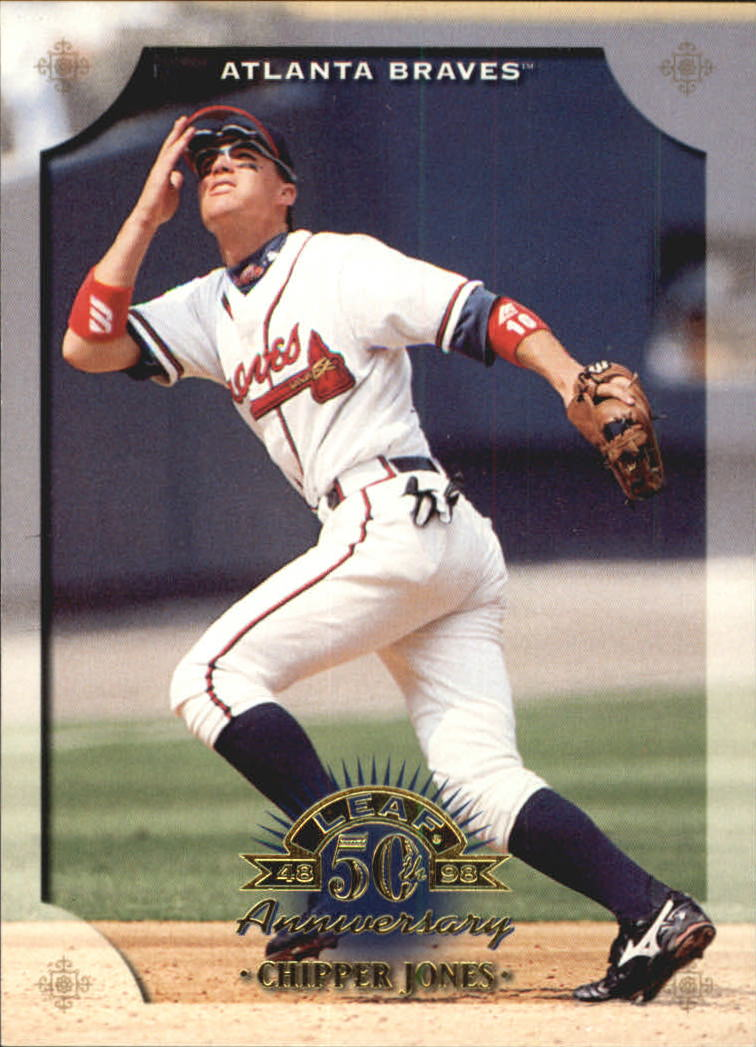 1998 Leaf #130 Chipper Jones
