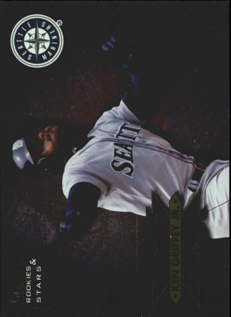 1998 Leaf Rookies and Stars Extreme Measures #1 Ken Griffey Jr./944