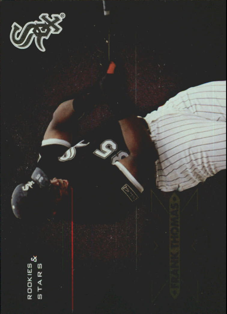 1998 Leaf Rookies and Stars Extreme Measures #2 Frank Thomas/653