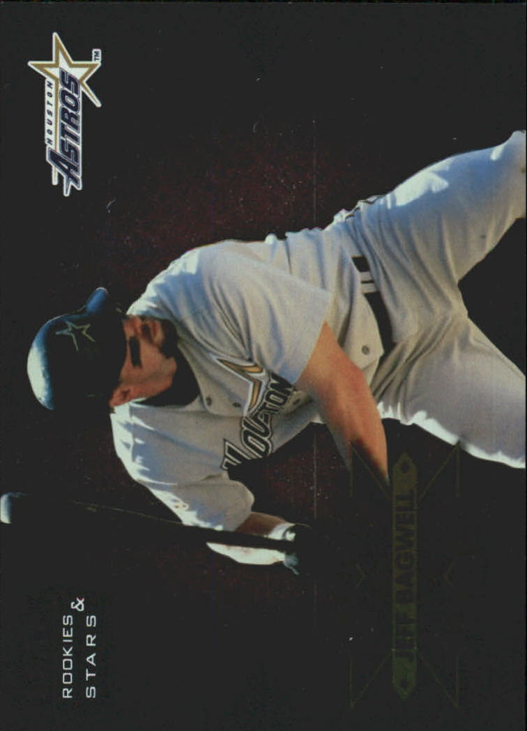 1998 Leaf Rookies and Stars Extreme Measures #9 Jeff Bagwell/873