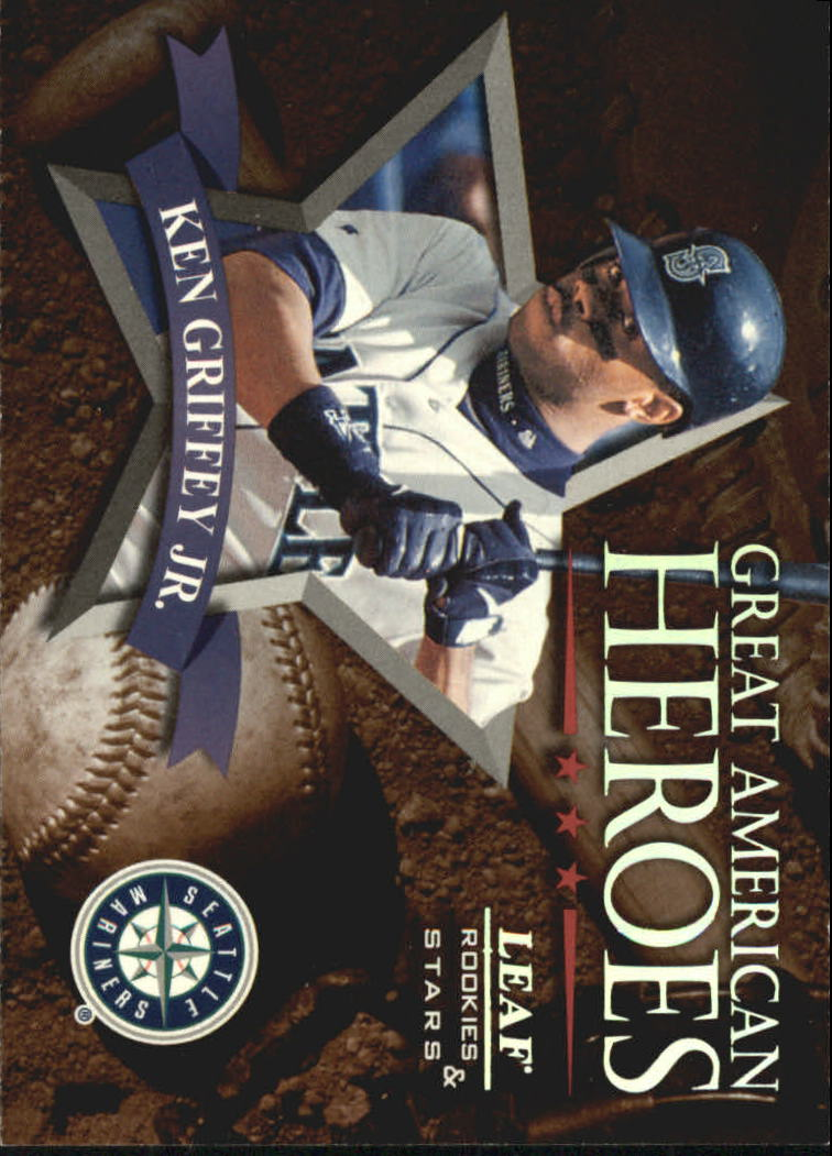 1998 Leaf Rookies and Stars Great American Heroes #3 Ken Griffey Jr.